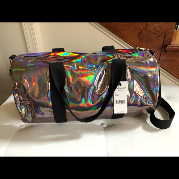 ef3e6f1e1c60 Brand new Madden girl hologram duffle bag